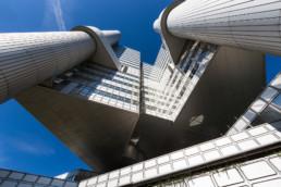 Architekturfotograf München: HypoVereinsbank Zentrale Tower | 8776 | © Effinger