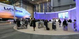 Lufthansa Kundenevent im Hangar Flughafen München - Copyright Thomas Effinger, Eventfotograf München