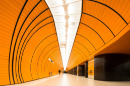 Subway station Marienplatz - Copyright Thomas Effinger, Architecture photographer, Munich