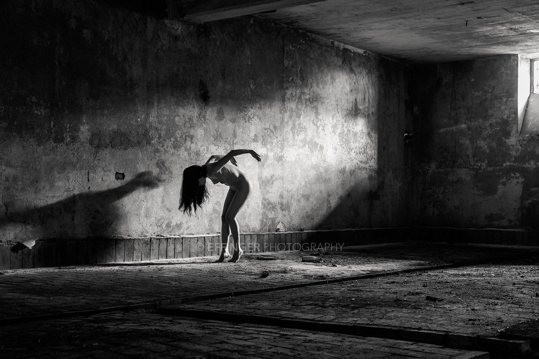 Nude Art - Aktfotos Leipzig: Lost Place Shooting #0934