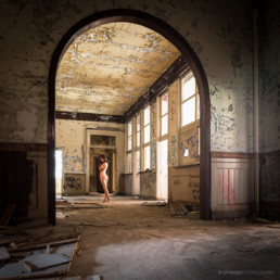 Nude Art - Aktfotos Berlin: Lost Place Shooting #9532