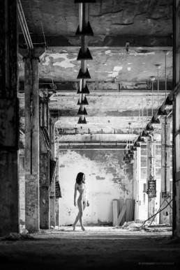 Nude Art - Aktfotos Chemnitz: Lost Place Shooting #1505