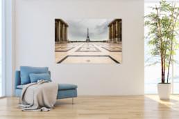 Exklusive Fotodrucke und Wandbilder: Palais de Chaillot, Paris Nr. 4675 | © Thomas Effinger