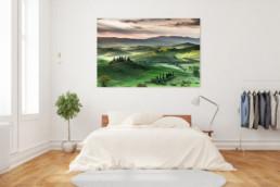 Exklusive Fotodrucke und Wandbilder: Toskana, Italien Nr. 7205 | © Thomas Effinger