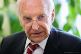 Dr. Edmund Stoiber, CSU, press photos interview | © T. Effinger