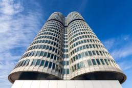 Architekturfotografie: BMW Hochhaus München Vierzylinder   7747   © Effinger