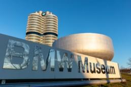 Architecture photography: BMW Museum Munich, BMW Tower four-cylinder   6117   © Effinger