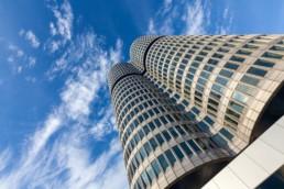 Architecture photography: BMW Tower Munich four-cylinder   7766   © Effinger