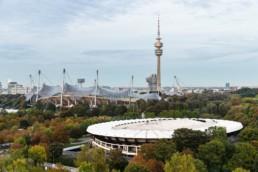 Architekturfotografie: Olympiapark München, Olympiastadion, Olympiaturm | 1029 | © Effinger