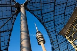 Olympic Park Munich, Olympic Stadium, Olympic Tower | 3282 | © Effinger