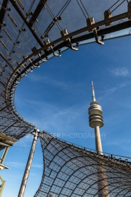 Olympic Park Munich, Olympic Stadium, Olympic Tower | 5929 | © Effinger