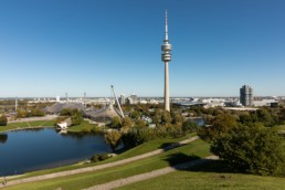 Olympic Park Munich, Olympic Stadium, Olympic Tower, BMW World, BMW Tower | 3346 | © Effinger