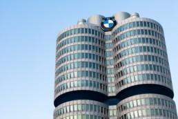 Architekturfotografie: BMW Hochhaus München Vierzylinder   4791   © Effinger