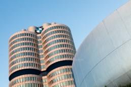 Architekturfotografie: BMW-Museum München, BMW Hochhaus Vierzylinder   4777   © Effinger