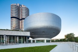 Architecture photography: BMW Museum Munich and BMW Tower   4783   © Effinger