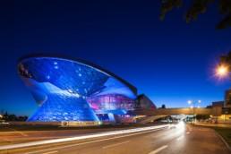 Architekturfotografie: BMW Welt München bei Nacht   4695   © Effinger