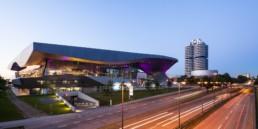 Architekturfotografie: BMW Welt München, BMW Museum und BMW Hochhaus   4641   © Effinger
