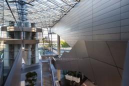 Architecture photography: BMW World Munich inside inner space   1428   © Effinger