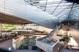 Architecture photography: BMW World Munich inside inner space   1441   © Effinger