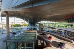 Architecture photography: BMW World Munich inside inner space   1445   © Effinger