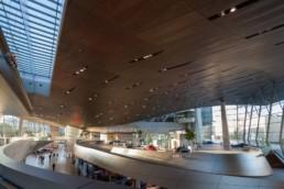 Architecture photography: BMW World Munich inside inner space   1468   © Effinger