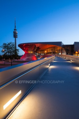 Architecture photography: BMW World Munich, Olympic Tower | 4816 | © Effinger