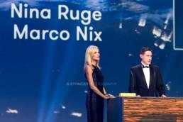 Nina Ruge, Marco Nix | GreenTec Awards Pressefotos | 8146 | © Effinger